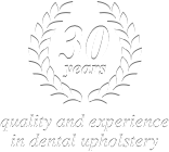 30 years quality and experience in dental upholstery